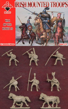 REDBOX 72055 IRISH MOUNTED TROOPS - War of the Roses Set 10