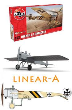 AIRFIX A01086 Fokker EII (Late) Eindecker 1:72