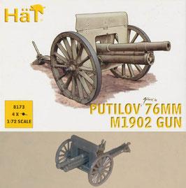 HÄT 8173 WWI 76mm PUTILOV M1902 GUN