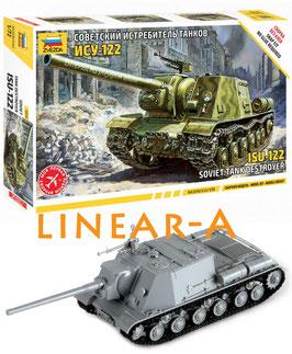 ZVEZDA 5054 SOVIET TANK DESTROYER ISU-122