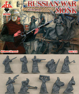 REDBOX 72086 RUSSIAN WAR MONK 16-17th Century