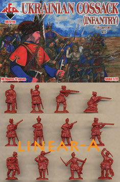 REDBOX 72116 Ukrainian Cossack Infantry 16. Cent. Set 3