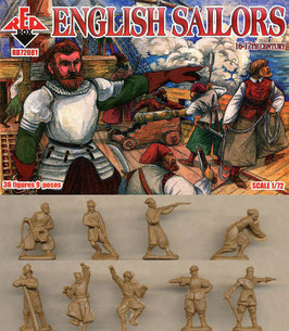 REDBOX 72081 ENGLISH SAILORS 16-17th Century