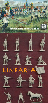 WATERLOO AP056 1815 French Line Infantry