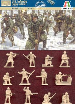 ITALERI 6133 WWII US INFANTRY WINTER UNIFORM