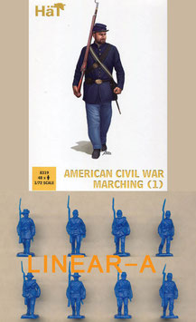 HÄT 8319 American Civil War Marching Set 1