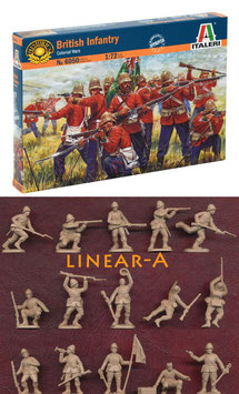 Italeri 6050 British Infantry – Colonial Wars