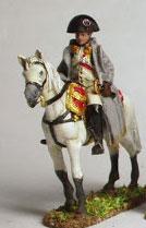 linear-b 01n Napoleon auf dem Pferd aus Zinn