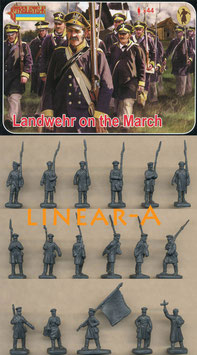 STRELETS 168 Landwehr on the March