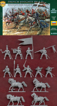 ZVEZDA 8036 FRENCH KNIGHTS XV. A.D. TOP ANGEBOT
