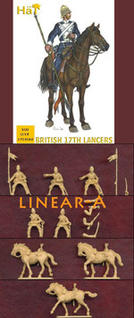 HÄT 8181 BRITISH 17TH LANCERS