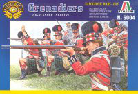 ITALERI 6004 Napoleonic Highlander Infantry - Secondhand