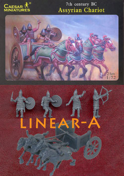 CAESAR H011 ASSYRIAN CHARIOT 7th CENTURY