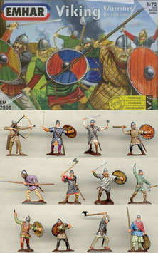 EMHAR 7205 VIKINGS WARRIORS 9th-10th Century