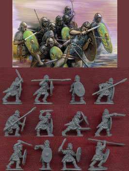 STRELETS M034 ROMAN AUXILIARIES IN ADVANCE