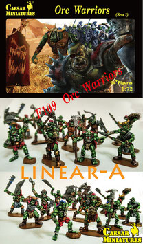 CAESAR F109 ORC WARRIORS SET 2