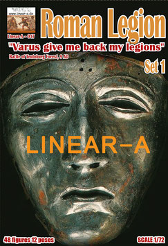 "LINEAR-A 017 Roman Legion Set 1  ""Varus give me back my legions I A.D."""