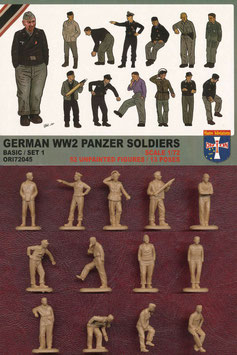 ORION 72045 GERMAN WWII PANZER SOLDIERS SET 1