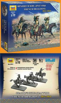 ZVEZDA 6812 FRENCH DRAGOONS 1812 - 1814