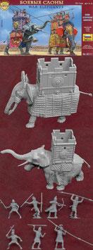 ZVEZDA 8011 WAR ELEPHANTS III-I. B.C.