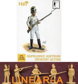 HÄT 8327 NAPOLEONIC Austrian Infantry Action