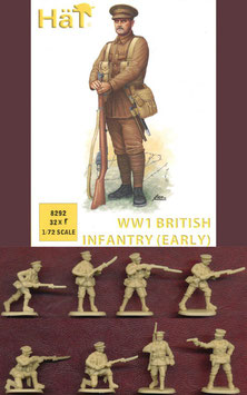 HÄT 8292 WWI British Infantry (Early)