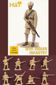 HÄT 8236 WWI INDIAN INFANTRY