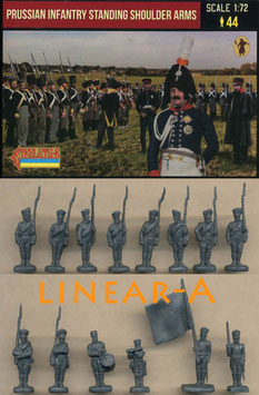 STRELETS 180 Prussian Infantry Standing Shoulder Arms