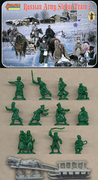 STRELETS 136 RUSSIAN ARMY SLEDGE TRAIN SET 2