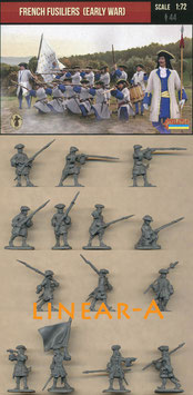 Strelets 236 French Fusiliers (Early War)