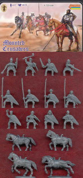 STRELETS 104 MOUNTED CRUSADERS IN ORIENTAL DRESS