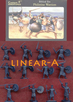CAESAR H046 PHILISTINE WARRIORS