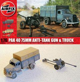 AIRFIX A02315 PaK 40 75mm Anti-Tank Gun & Truck 1:76