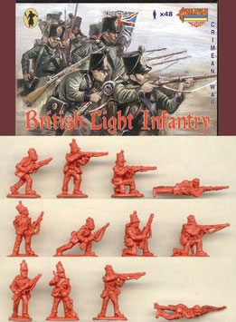 STRELETS M030 CRIMEAN BRITISH LIGHT INFANTRY