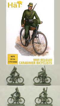 HÄT 8275 WWI BELGIAN CARABINIER BICYCLISTS