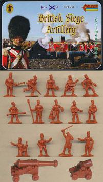 """STRELETS 062 BRITISH SIEGE ARTILLERY """"Krimkrieg"""""""