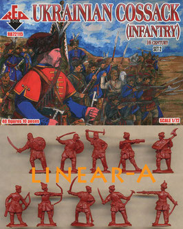 REDBOX 72115 Ukrainian Cossack Infantry 16. Cent. Set 2