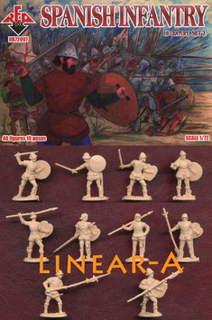 REDBOX 72097 SPANISH INFANTRY (16th Century) Set 2