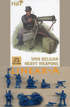 HÄT 8291 WWI BELGIAN HEAVY WEAPONS