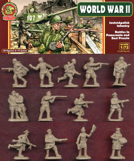 ULTIMA RATIO UR003 WWII Soviet & Polish Infantry