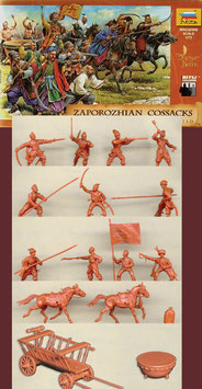 ZVEZDA 8064 ZAPOROZHIAN COSSACKS XVI-XVIII. A.D.
