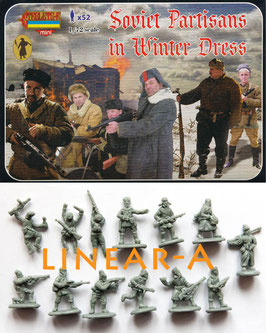 STRELETS M084 WWII SOVIET PARTISANS IN WINTER DRESS