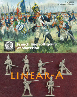 WATERLOO AP062 1815 French Line Infantry Voltigeurs