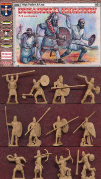 ORION 72043 BYZANTINE INFANTRY 7-9th CENTURIES