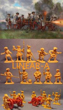 STRELETS 244 French Artillery
