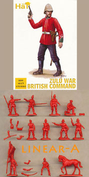 HÄT 8299 BRITISH COMMAND ZULU WAR