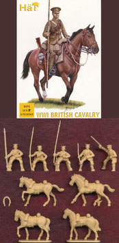 HÄT 8272 WWI BRITISH CAVALRY