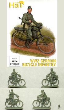 HÄT 8277 WWII GERMAN BICYCLE INFANTRY