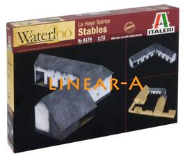 ITALERI 6176 Waterloo 1815 Anniversary Battleset – Stables / Ställe