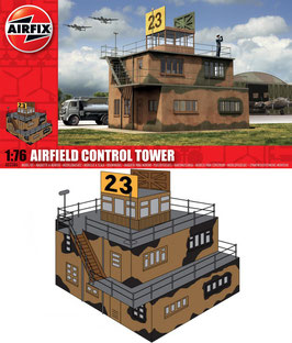 AIRFIX A03380  Airfield Control Tower 1:76